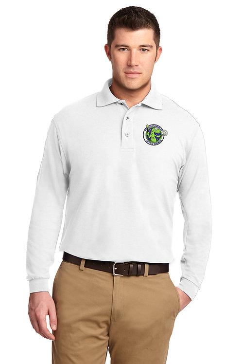 MAS Port Authority® Long Sleeve Silk Touch™ Polo