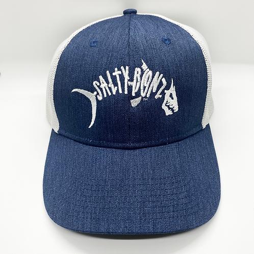 Salty Bonz Low-Profile Snapback Cap