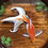 Thumbnail: 3D handpainted fantail goldfish in a wooden bowl