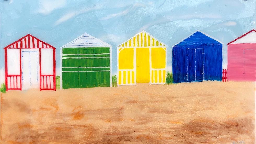 Lincolnshire beach huts