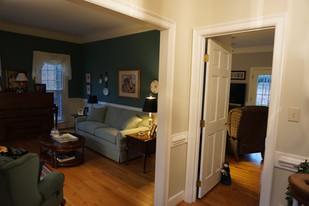 View from Front Entryway - Before