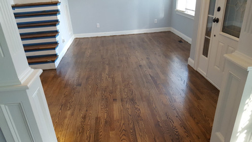 New Hardwood Flooring After