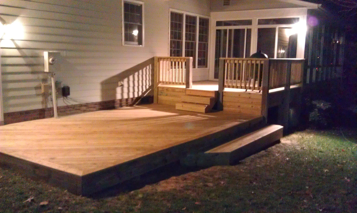 Deck Refinish A After