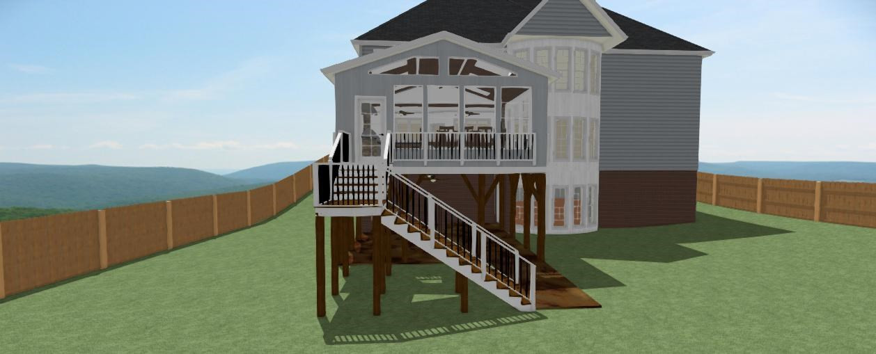 3D CAD Drawing of Plan