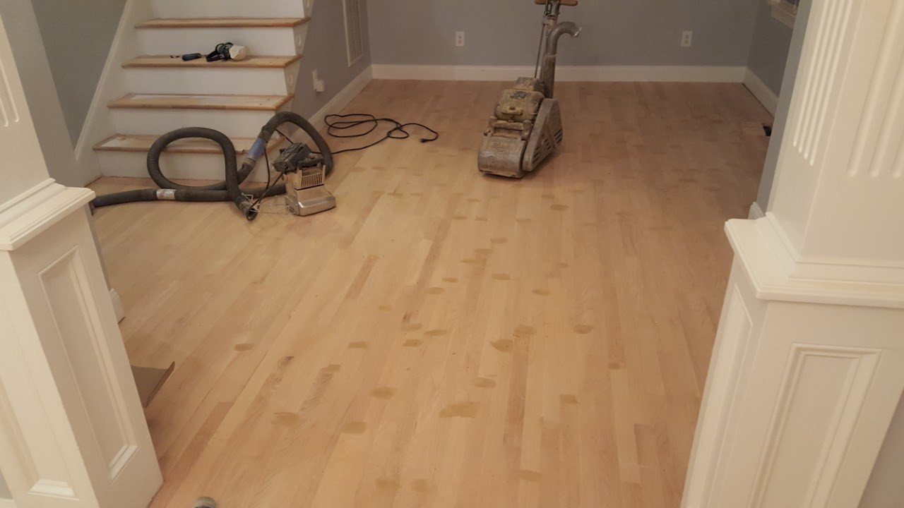 New Hardwood During