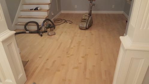 New Hardwood During