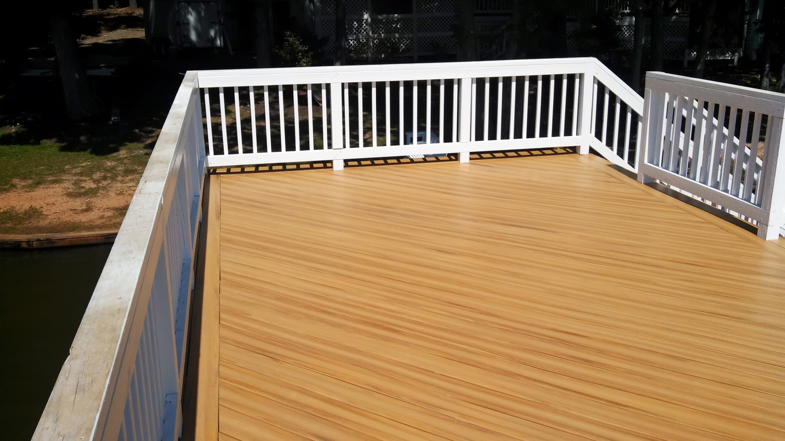 Lake Deck After
