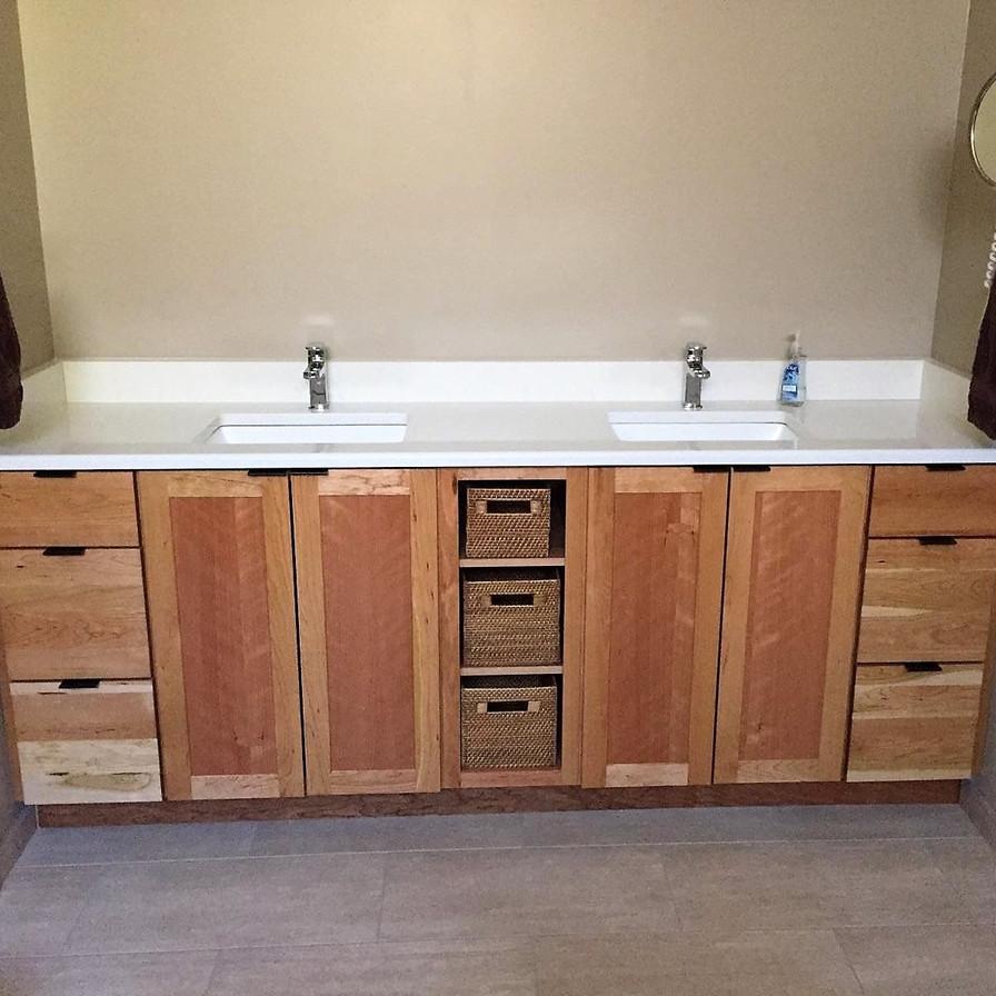 Master Bathroom Remodel A Vanity After