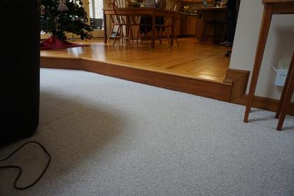 Before floor leveling