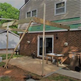 Covered Patio During
