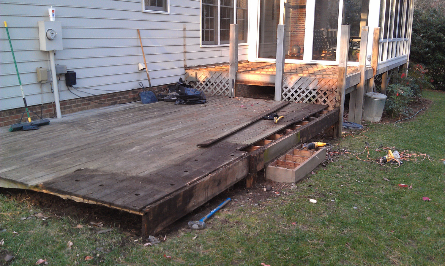Deck Refinish B After
