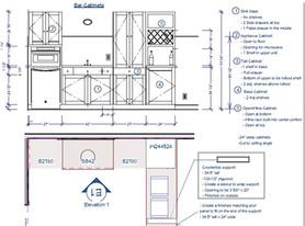 Bar Cabinet Details