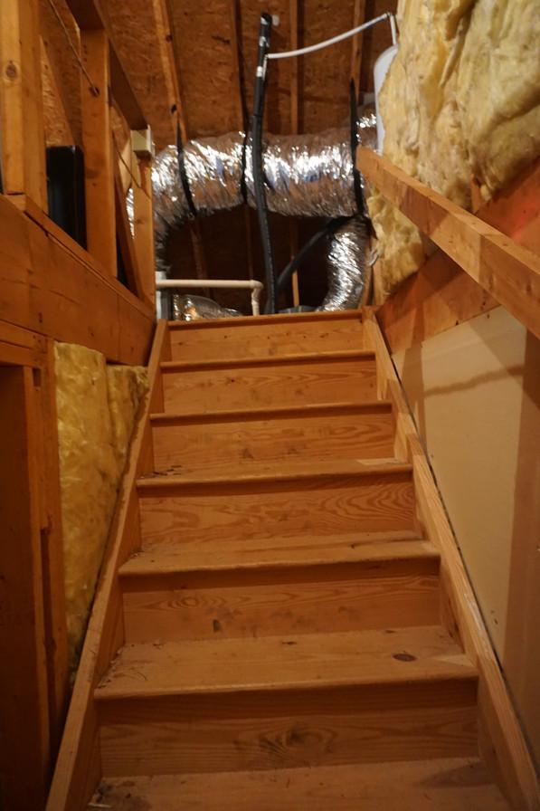 Stairway Before Remodel