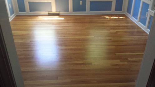 Hardwood Floor Refinish After