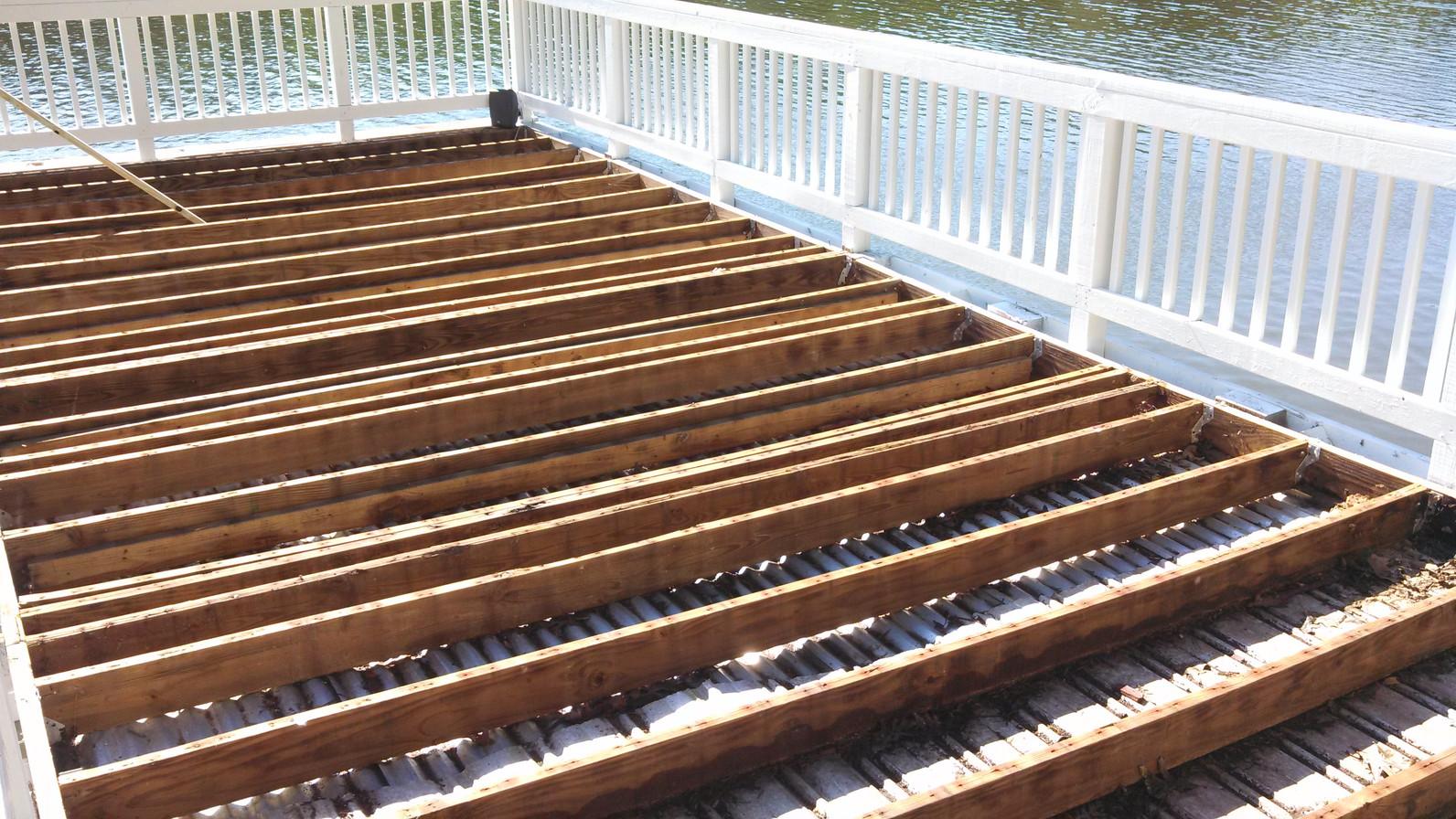 Lake Deck During