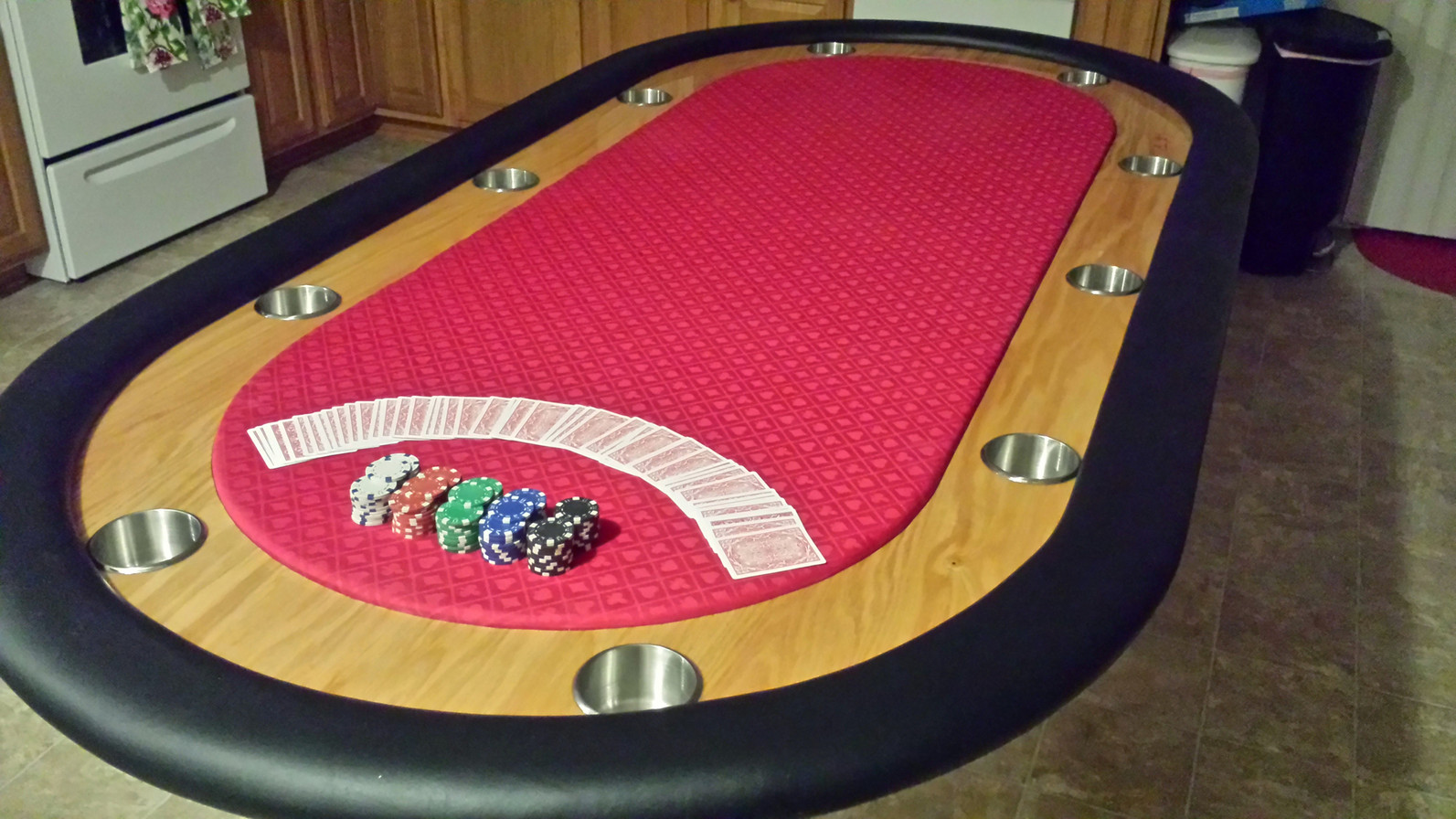 Custom Poker Table After