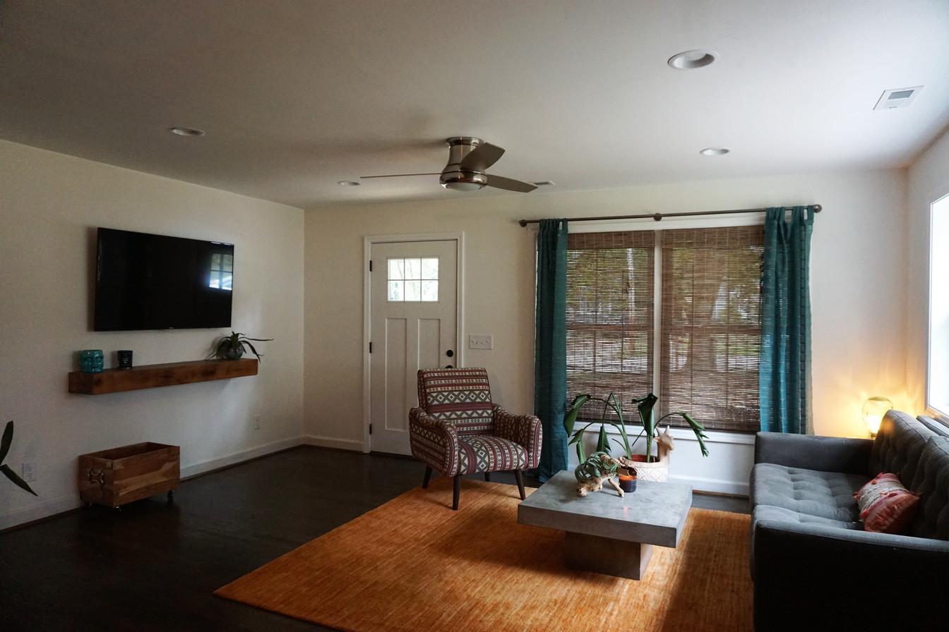 Room Addition After Inside