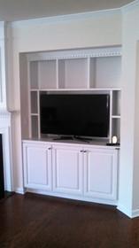 TV Nook Built-In After