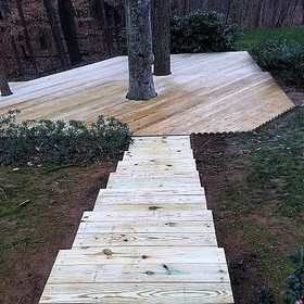 Tree Deck After
