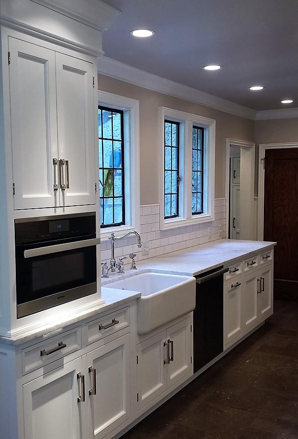 White Kitchen After