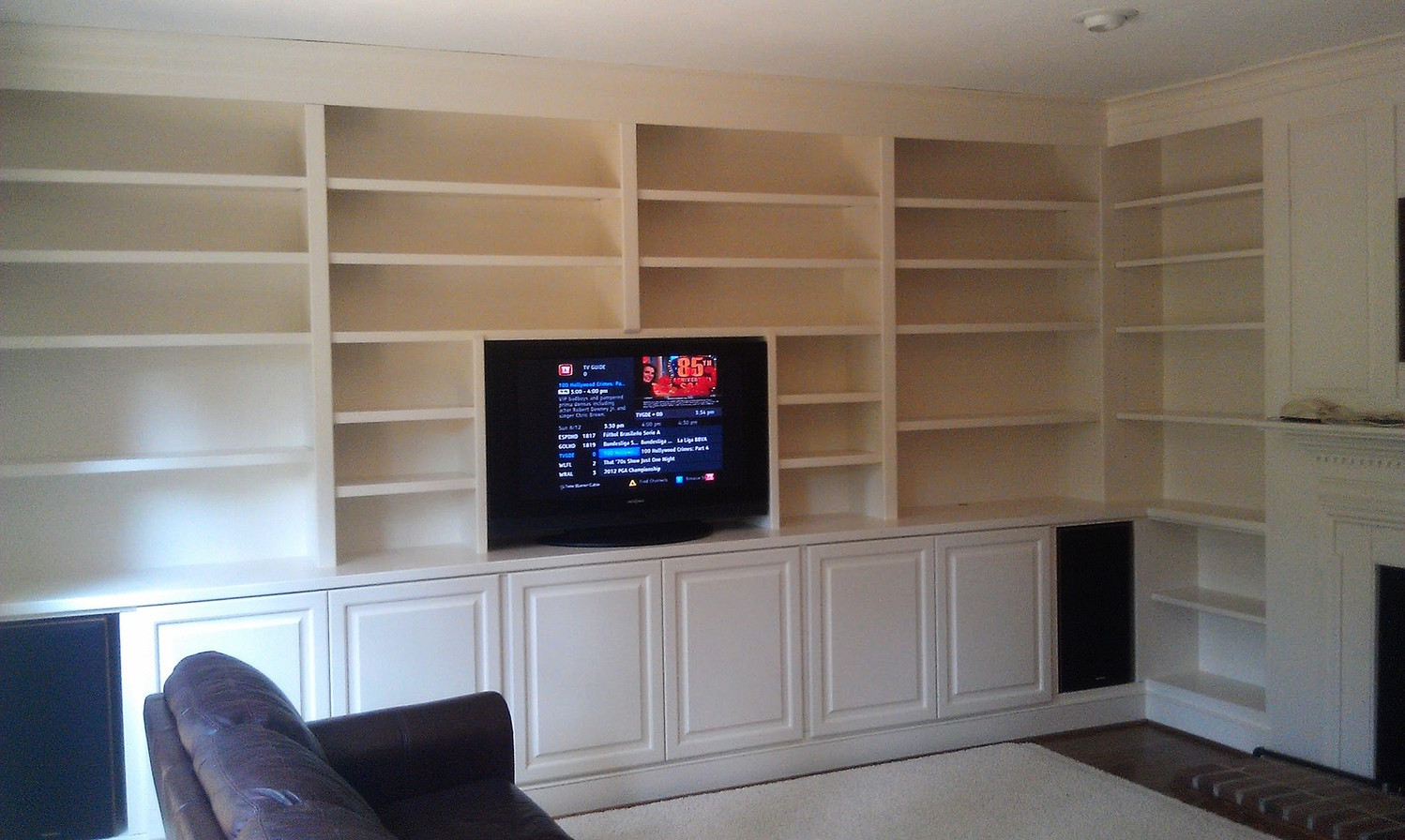 Wall to Wall Built-Ins After