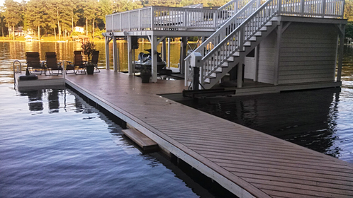 Lake Deck Bridge After