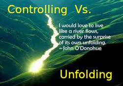 Controlling vs Unfolding