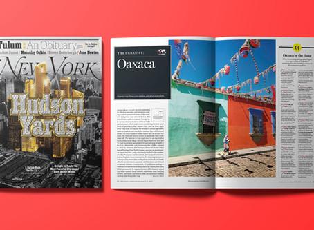 New York Mag / The urbanist: Oaxaca.