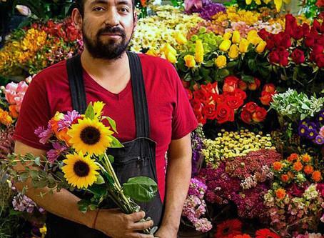 Meet the vendors: The heavy metal florist of Coyoacán Market tells all