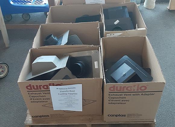 Portage-Duraflo Roof Venting Supplies