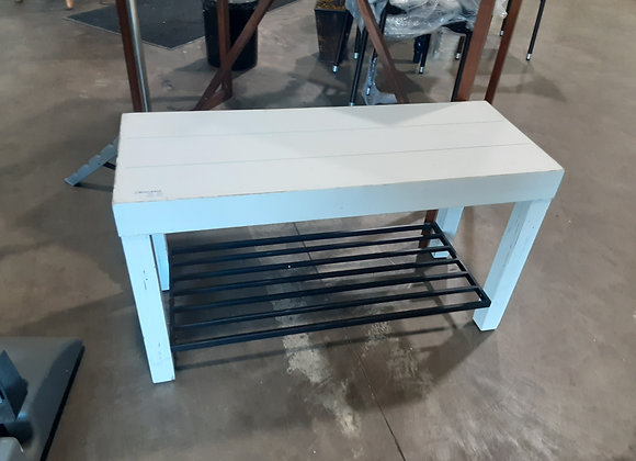 Portage- Kate & Laural white coffee table