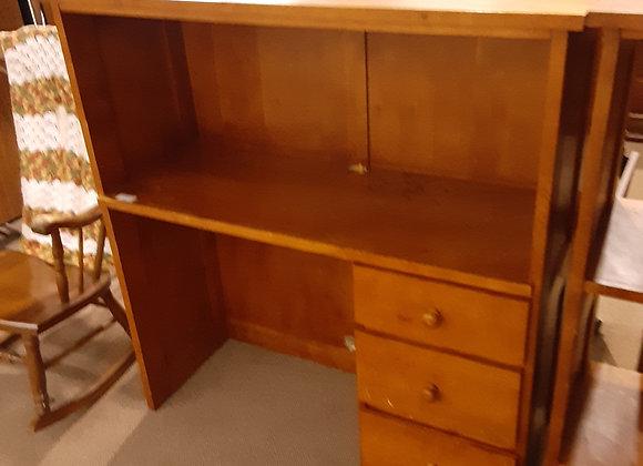 Portage-lite oak desk