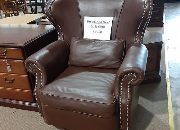 Portage- Leather Recliner Chair