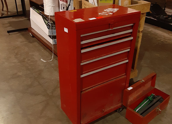 Portage-Red tool box