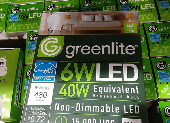 Baraboo & Portage- Greenlite bulbs