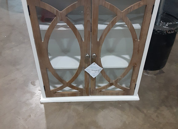 Portage- Rustic White Hanging Cabinet