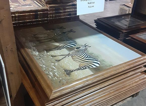 Portage- Zebra Canvas Pictures