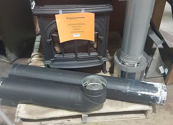 Portage- Jotul Cast iron Gas stove