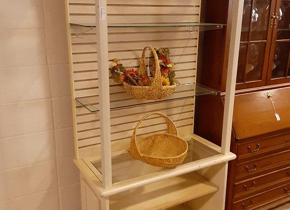 Portage-White Display shelf