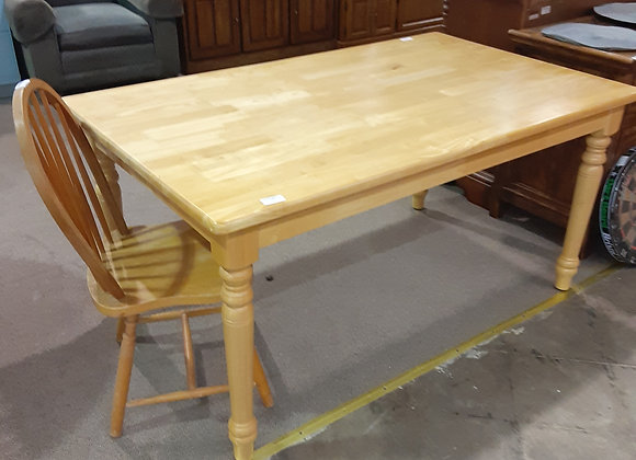 """Portage -IKEA kitchen Table """" Pine""""(no chairs included)"""