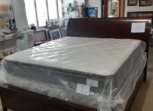 Portage- King Sleigh Bed frame (mattress no included)