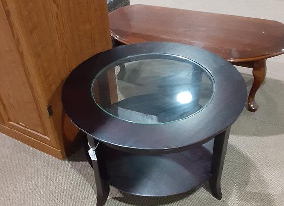 Portage-Black End Table