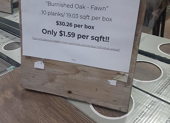 "Portage & Baraboo- Stainmaster Luxury Vinyl Plank flooring ""Fawn"""