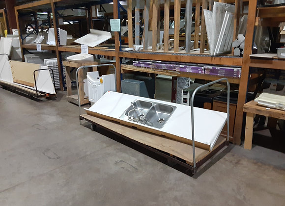 Portage- Stainless Steel sink top