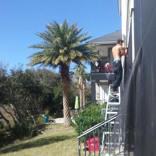 Full Porch Rescreenh