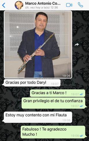 Comprador Flauta en Do