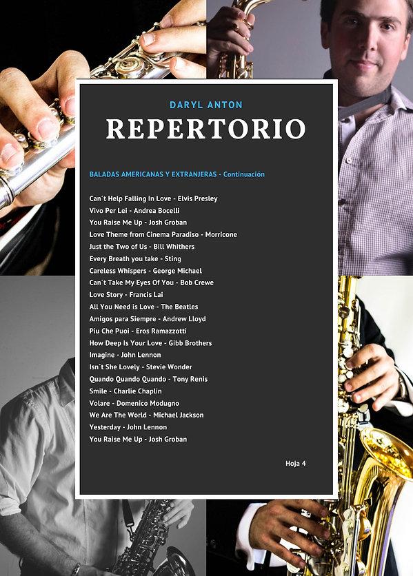 Saxofon para bodas y eventos en mexico Daryl Anton