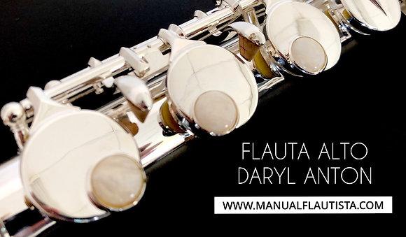 Flauta ALTO Daryl Anton