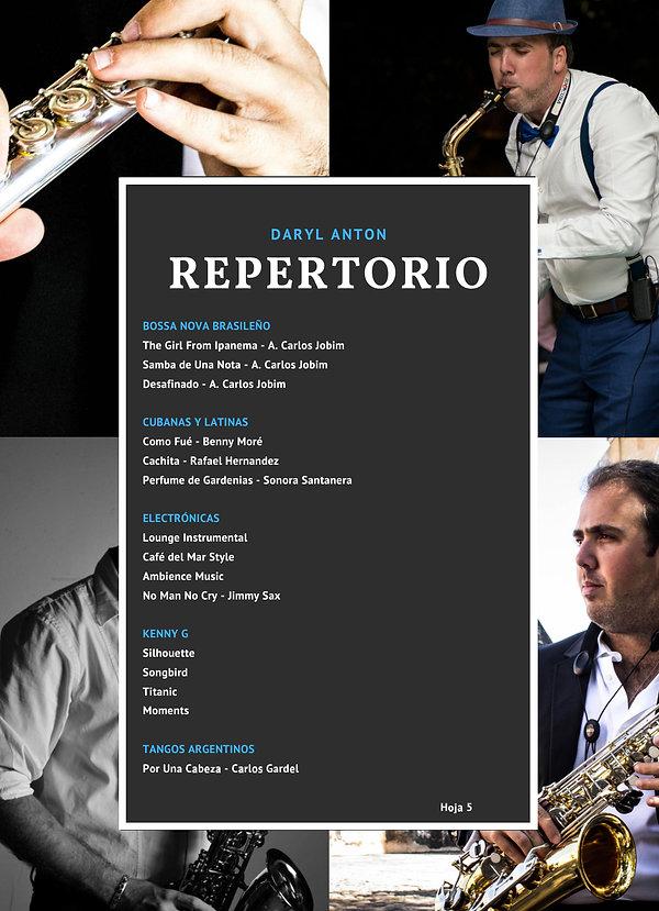 Saxofonista Daryl Anton en mexico