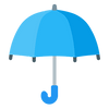 Insured blue umbrella